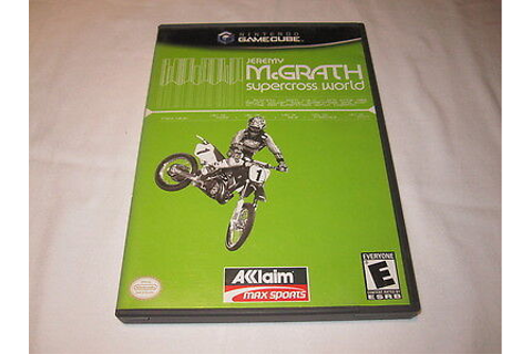 ¤ Jeremy McGrath Supercross World ¤ (Game Disc) GREAT ...