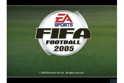 FIFA Football 2005 for Microsoft Xbox - The Video Games Museum