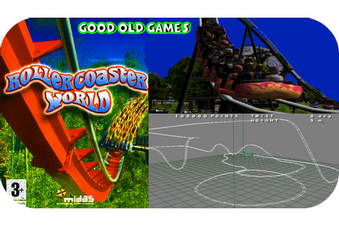 RollerCoaster World PS2 GamePlay HD - YouTube