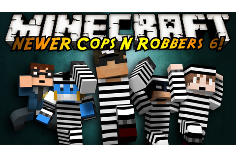 Minecraft Mini-Game : COPS N ROBBERS 3.0 ROUND SIX! - YouTube