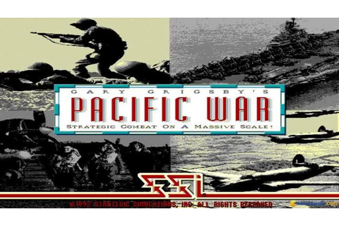 Gary Grigsby's Pacific War gameplay (PC Game, 1992) - YouTube