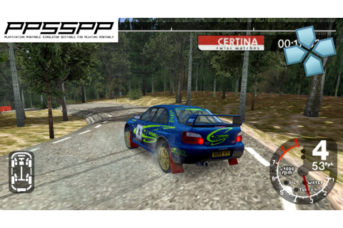 Colin Mcrae Rally 2005 Plus - PSP Gameplay (PPSSPP) 1080p ...