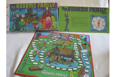 Vintage The Addams Family Board Game by VintageByThePound ...