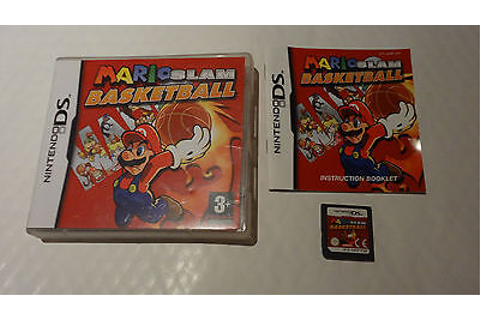 Mario Slam Basketball Game For Nintendo Ds Complete Great ...