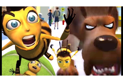 Bee Movie Game All Chases (PS2, Wii, X360, PC) - YouTube