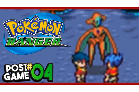 Pokemon Ranger Post Game Part 4 DEOXYS FORMS! Gameplay ...