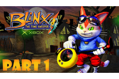 Blinx Time Sweeper Part 1 | Time Square | XBOX Game Play ...
