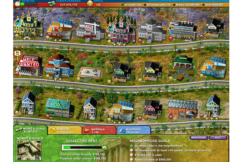 Build-a-lot - Town of the Year Online Free Game | GameHouse