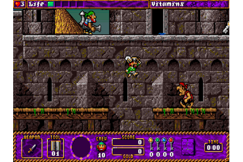 Traps \'n\' Treasures : The Company - Classic Amiga Games