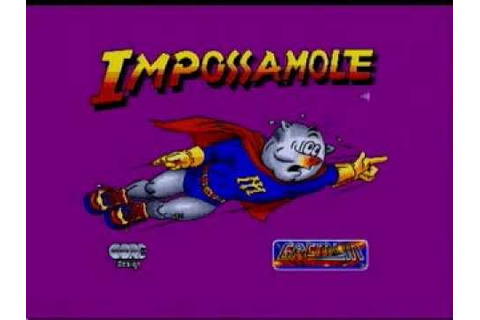 Impossamole - Atari ST - YouTube