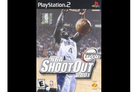 NBA ShootOut 2001 PlayStation 2 Video Game Title Gameplay ...