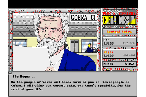 The CRPG Addict: Game 308: Cobra Mission: Panic in Cobra ...