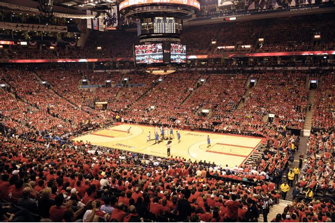 Toronto, Canada: Toronto Raptors Arena to watch a ...