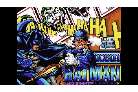Batman: The Caped Crusader (C64) - In-Game Theme - YouTube