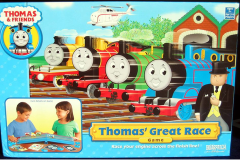 Quick Review - Thomas' Great Race Game | Thomas' Great ...