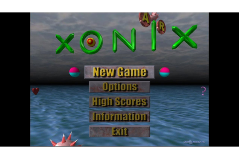 Air Xonix Game Play Difficulty:Easy - YouTube
