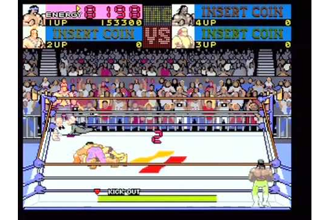 Main Event: Konami Wrestling Retro Arcade Game 4 - YouTube