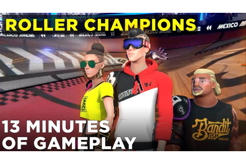 Roller Champions: 13 minutes of Ubisoft's new roller derby ...