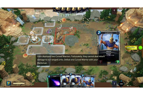 Smite Tactics strategy card game puts gods on a grid ...