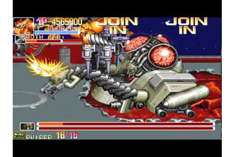 Arcade Longplay [381] Armored Warriors - YouTube