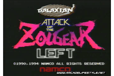 Galaxian 3: Attack of the Zolgear arcade video game by ...