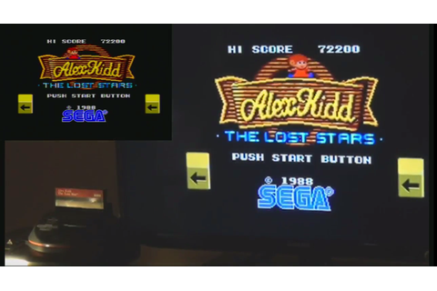 Alex Kidd: The Lost Stars (Sega Master System) high score by ...