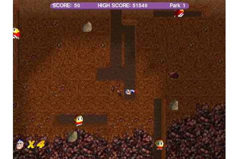 Dig Dug Deeper Download (2001 Arcade action Game)