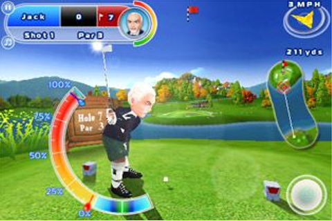 Let's Golf 2 HD - Symbian game. Let's Golf 2 HD sis ...
