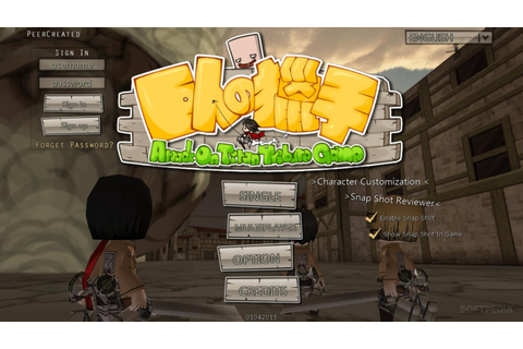 Attack on Titan Tribute Game Game Free Download