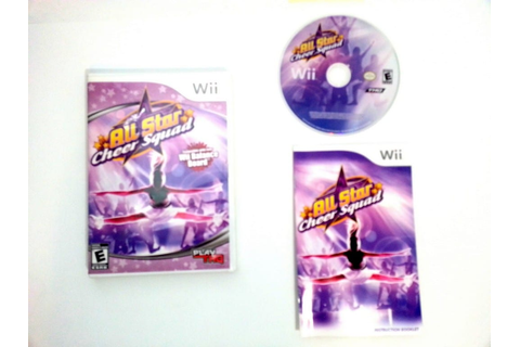 All-Star Cheer Squad game for Wii (Complete) | The Game Guy