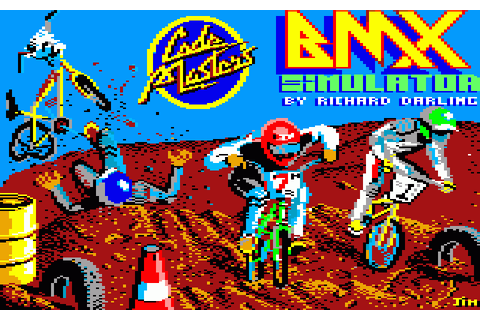 BMX Simulator (1987) by Codemasters Amstrad CPC game