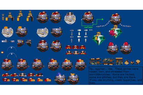 The Spriters Resource - Full Sheet View - Sonic & Knuckles ...