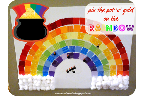 RACKS and Mooby: Pin the Pot of Gold on the Rainbow
