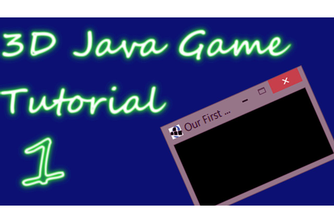 OpenGL 3D Game Tutorial 1: The Display - YouTube