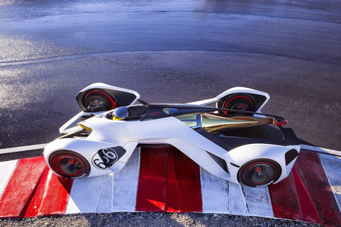 Chevy Chaparral 2X Vision Gran Turismo Concept Debuts in ...