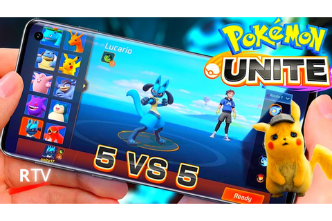 Pokemon Unite - Full Gameplay Presentation - Game Pokemon ...