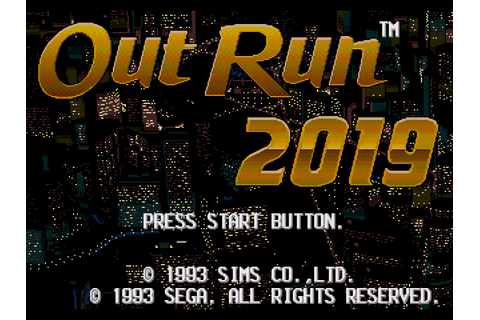 OutRun 2019 Download Game | GameFabrique