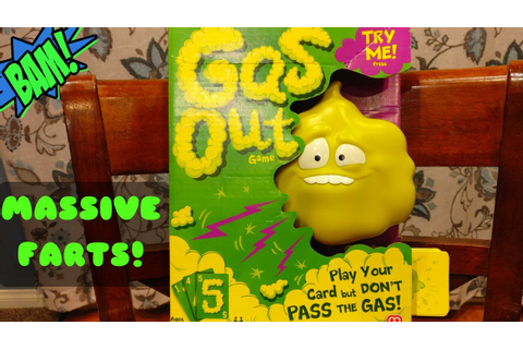 GAS OUT THE FARTING CARD GAME by Mattel - YouTube