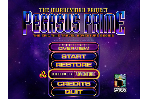 The Journeyman Project: Pegasus Prime (Mac) - My Abandonware
