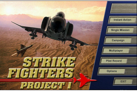 Strike Fighters Project 1 Game - Free Download Full ...