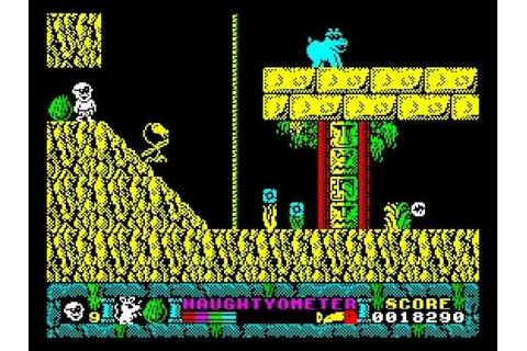 Jack the Nipper II: In Coconut Capers, ZX Spectrum ...