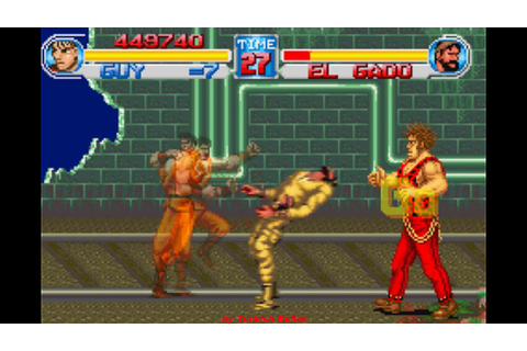 Final Fight One (Japan) (Game Boy Advance) - (Longplay ...