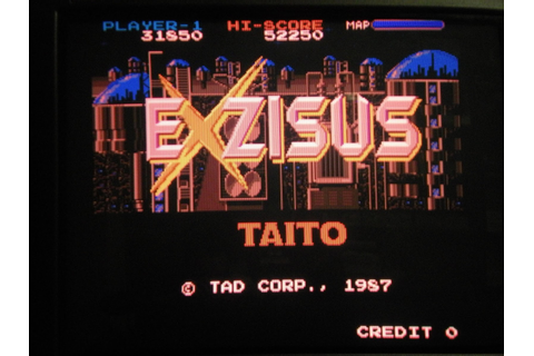 Arcade Fixer: Exzisus - Taito 1987 (repair log)
