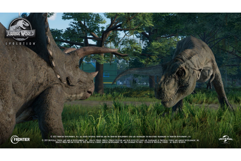 Jurassic World Evolution Shows Plenty of Dinosaurs in Over ...