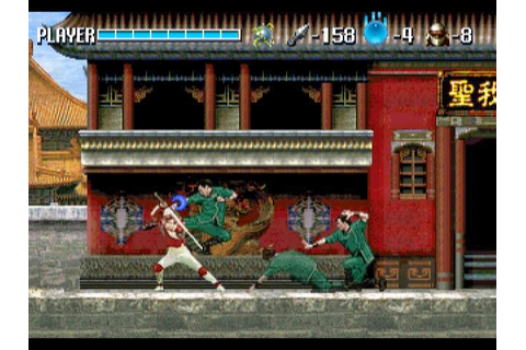 RETRO SPIRIT GAMES: Retro Review - Shinobi X (Shinobi ...
