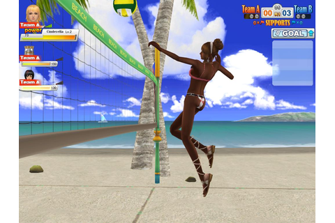 Beach Volleyball Online Receives New Upgrade; Opens Item Mall