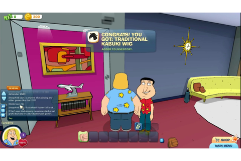 Family Guy Online Gameplay (free browser online pc game ...