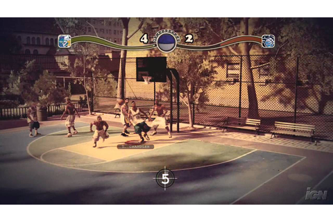 NBA Street Homecourt PlayStation 3 Gameplay - Hanging Off ...