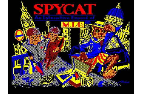 Spycat on the Acorn Electron - YouTube