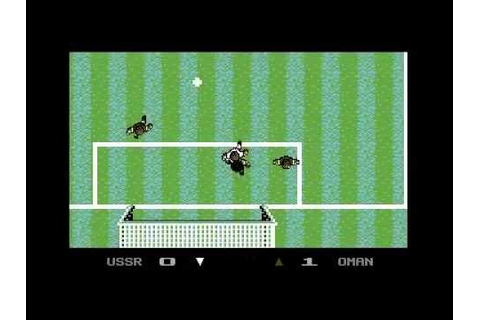Microprose Soccer - C64 Longplay / Walkthrough - YouTube